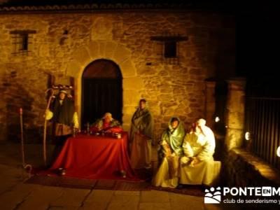Senderismo Sierra Norte Madrid - Belén Viviente de Buitrago; senderismo en valladolid